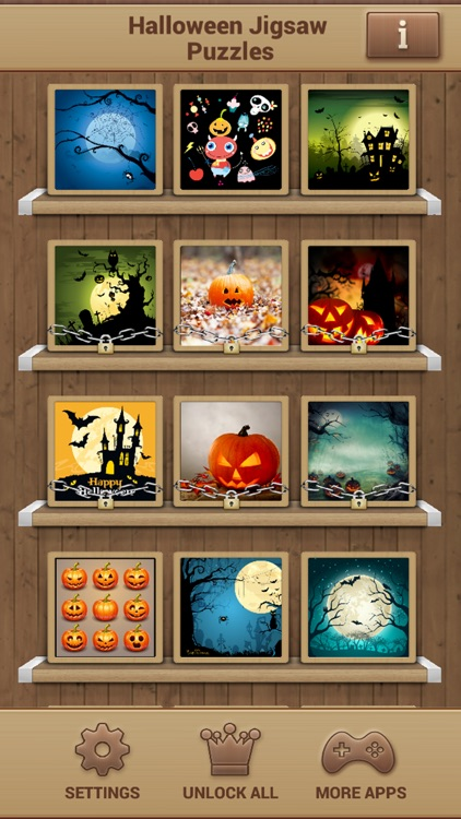 Halloween Jigsaw Puzzles Game screenshot-1