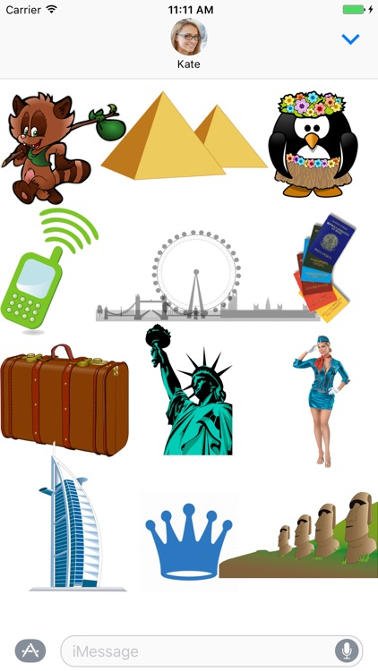 Traveling Sticker Pack