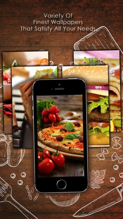 Food Wallpapers - Personalised Your Phone Screen screenshot-3