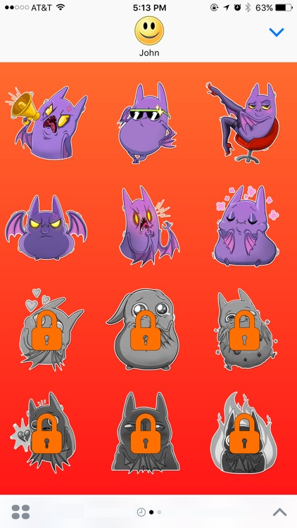 Rules of Bat Girl Stickers