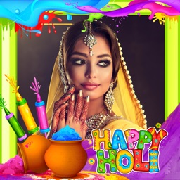 Holi Photo Frames - Festival of Colors Pic Editor