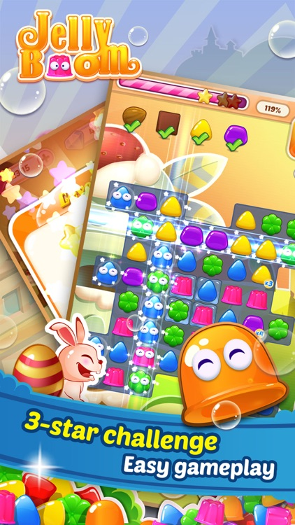 Jelly Boom HD screenshot-4