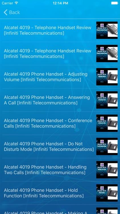 Infiniti Telco Customer Support screenshot-3