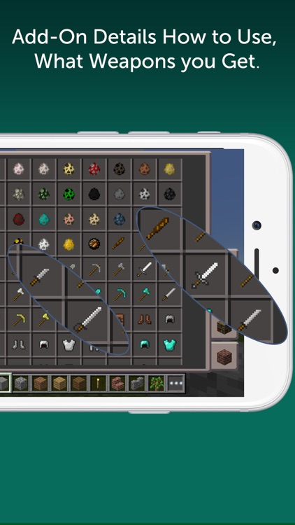 Hunter Weapons Add-On for Minecraft PE: MCPE screenshot-1