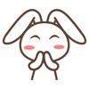 Adorable Rabbit Animated Emoji Stickers