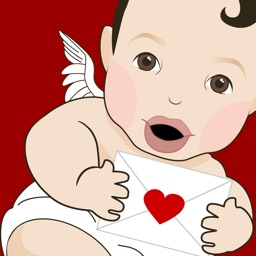 Cupid in Love - Animated Stickers