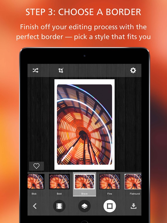 Pixlr-o-matic screenshot