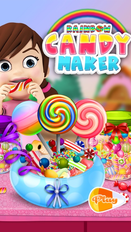 Colorful Candies Shop - Make Rainbow Sweets