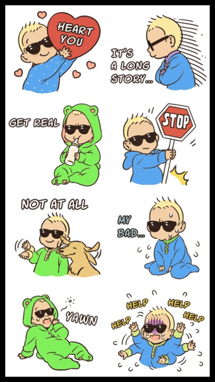 Cool Baby Stickers
