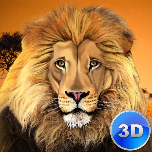 Lion Simulator: Wild African Animal icon
