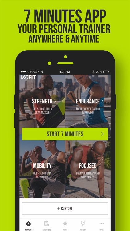 7 Minute Workout by VGFIT