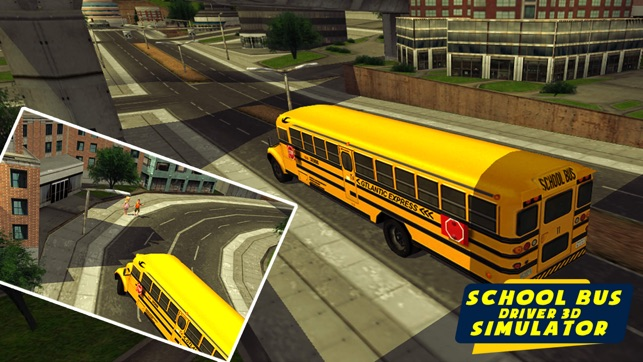 School bus driving 2018 on the App Store