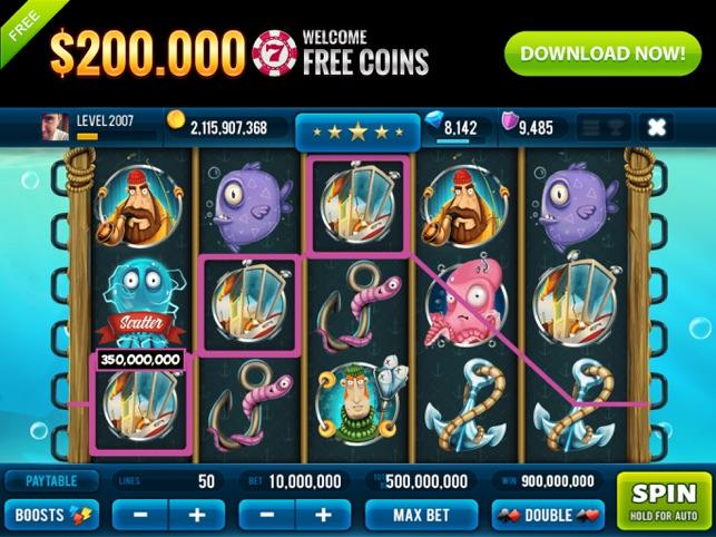 Big Catch Slots Jackpot Casino Screenshot