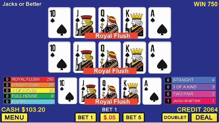 Triple Play Video Poker