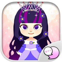 Little princess Stickers & Keyboard By ChatStick
