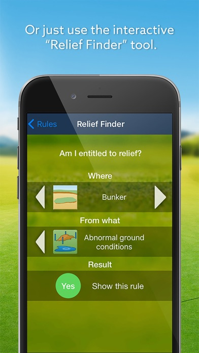 Expert Golf Igolfrules review screenshots