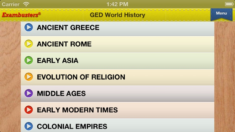 GED Social Studies Prep Flashcards Exambusters screenshot-3