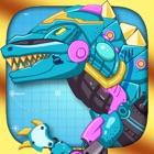 鋼の恐竜おもちゃ:整備士のティラノサウルス icon