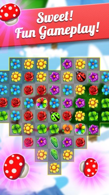 Flower Crush - Match 3 & Blast Garden to Bloom! screenshot-3