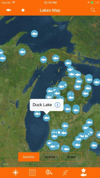 Michigan – Fishing Lakes