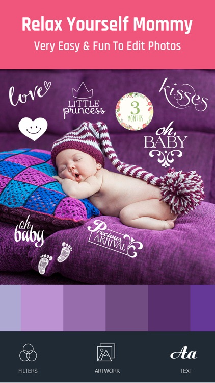 Baby Photo - Edit Pregnancy & Baby Milestones Pics screenshot-1