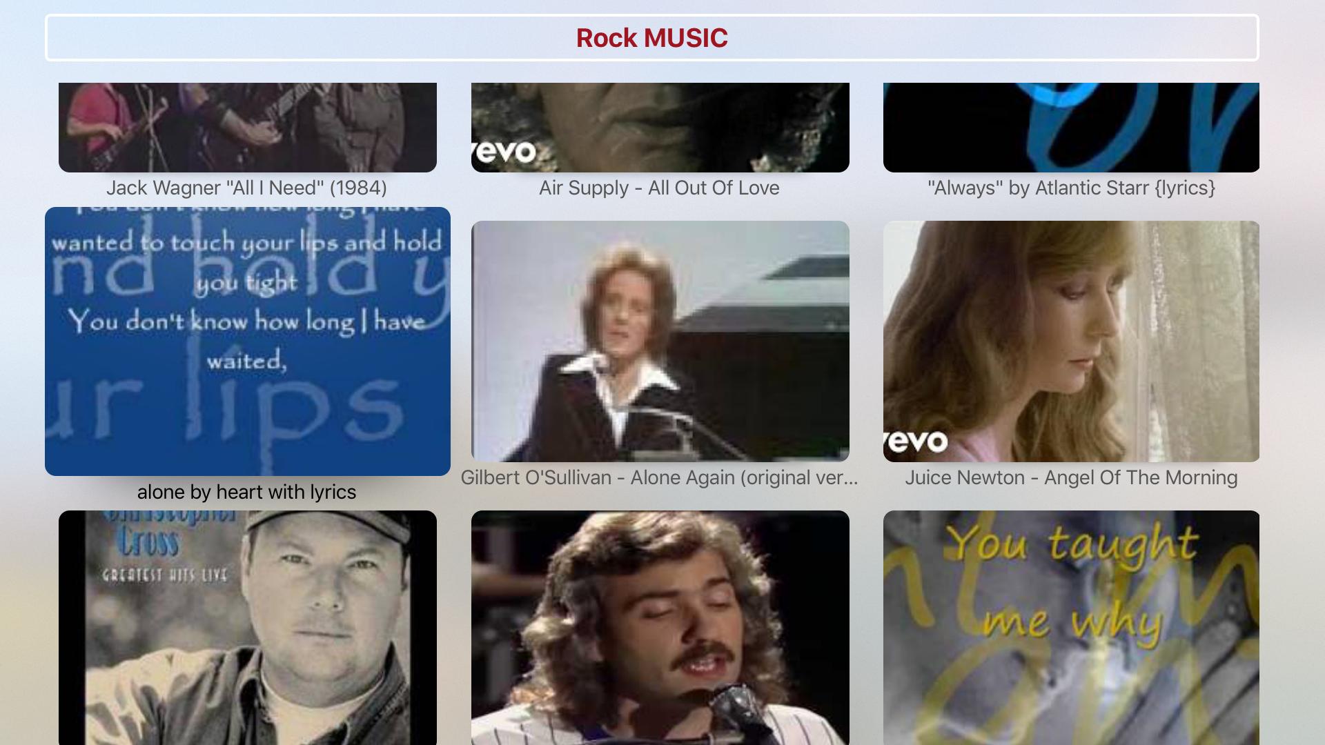 Rock Music - All Genres & Categories screenshot 5