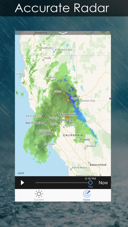 Weather Radar + Forecast screenshot-1