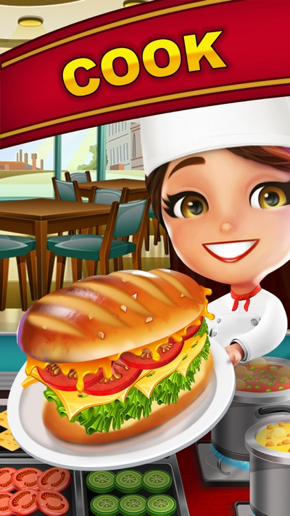 Cooking Scramble: World Master Chef & Food Fever screenshot-0