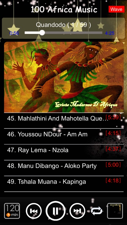 [5 CD] 100 Africa traditional music screenshot-4
