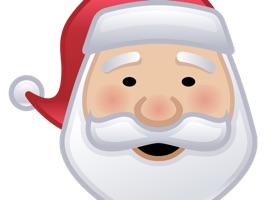 Send the Holiday message with these great Christmas stickers