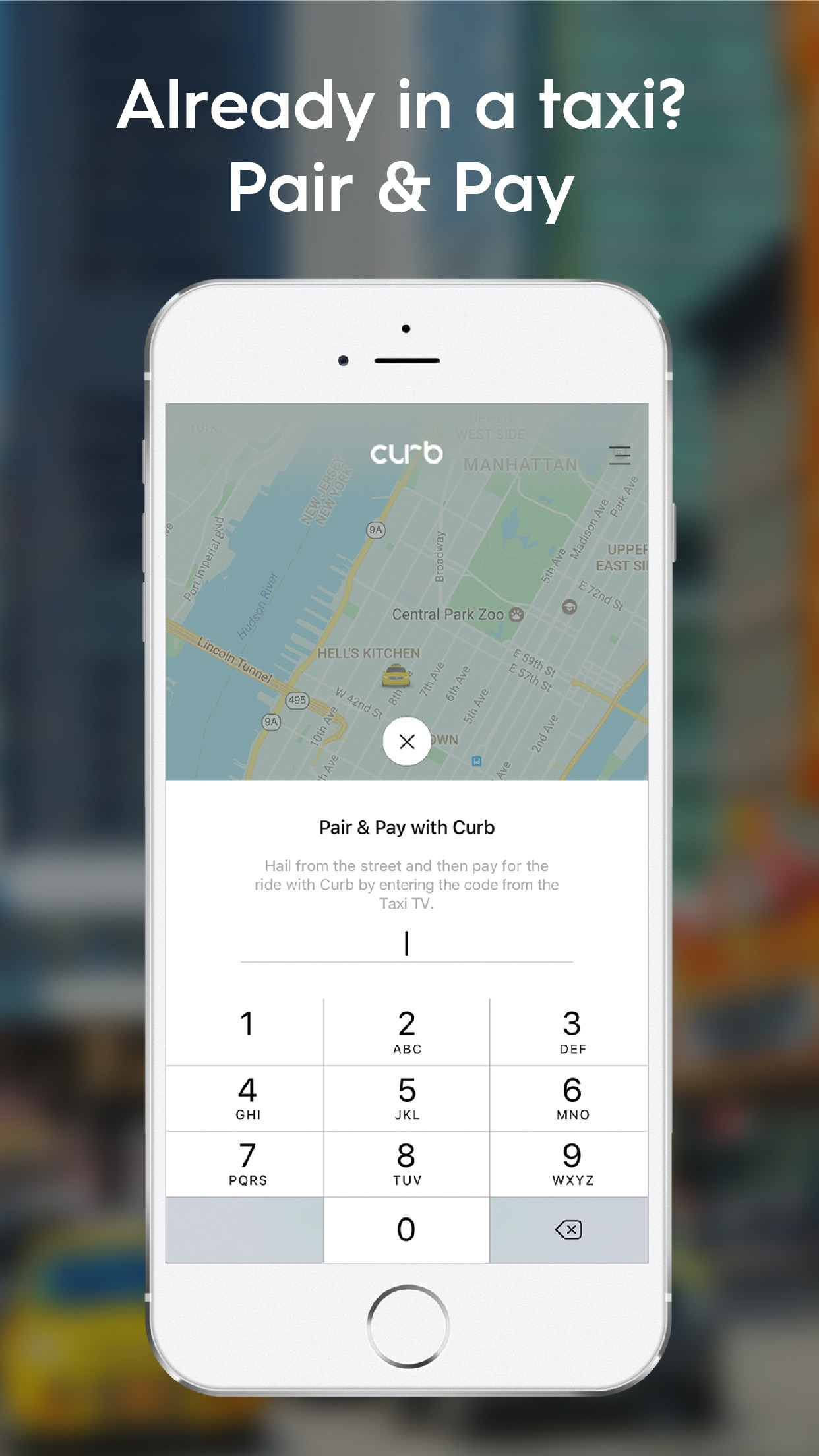 Curb - The Taxi App Screenshot