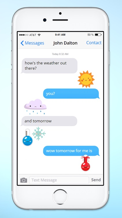 Cute Weather Emoji Icons Sticker Pack by Veritas Design Group