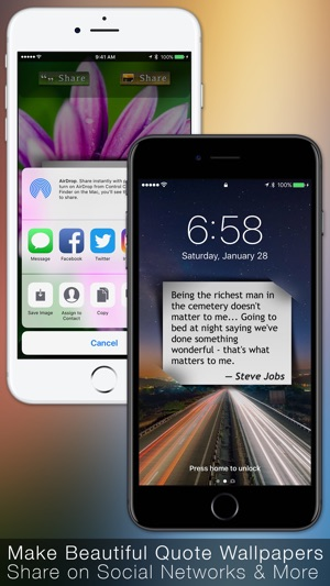 Quotes Daily Inspiration & Wisdom with Wallpapers en App Store