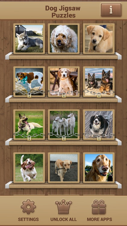 Dog Jigsaw Puzzles screenshot-1