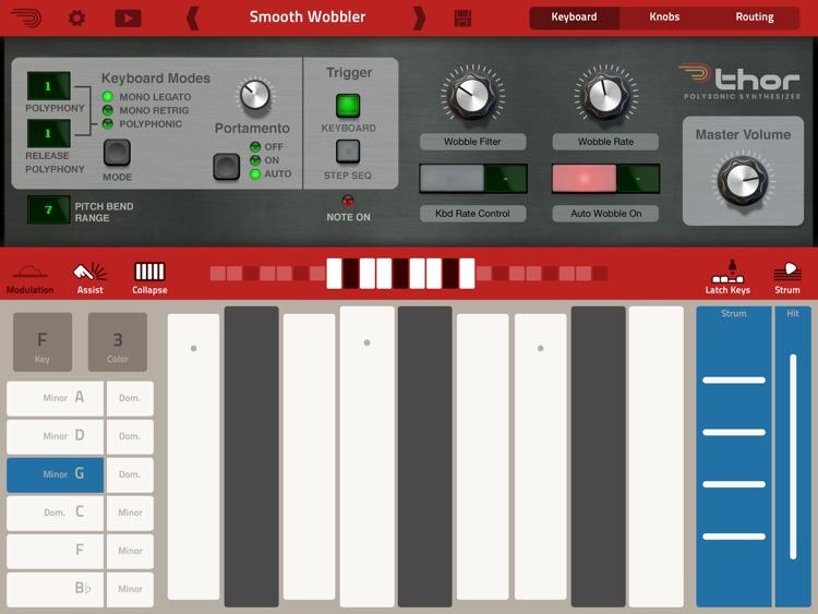 Thor Polysonic Synthesizer screenshot-3