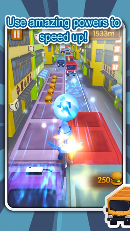 3D City Run-The world's most classic Parkour game screenshot-3