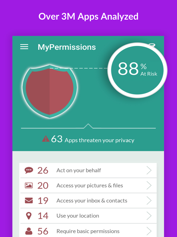 MyPermissions Privacy Cleaner screenshot 10