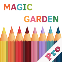 Magic Garden Pro:A Colory Book for Adults and kids