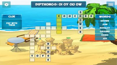 Island Crossword Puzzle Fun screenshot two
