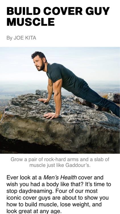 Men's Health Magazine screenshot-4