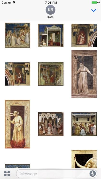 Giotto Artworks Stickers screenshot-3