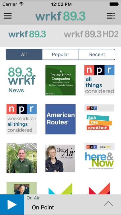WRKF Public Radio App screenshot-3
