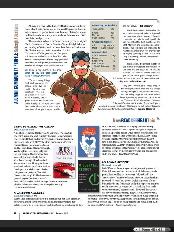 University of Dayton Magazine HDのおすすめ画像5