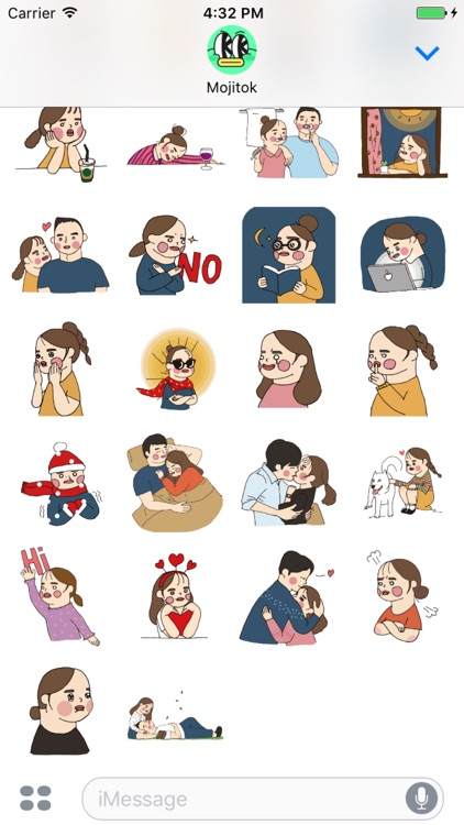 Daily Chaaeso Stickers