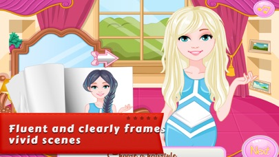 Dressup Games:Denim Hairstyles screenshot four