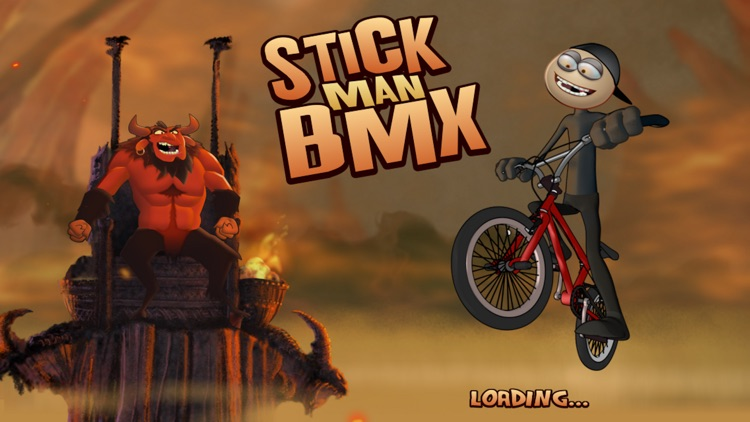Stickman BMX Free screenshot-0