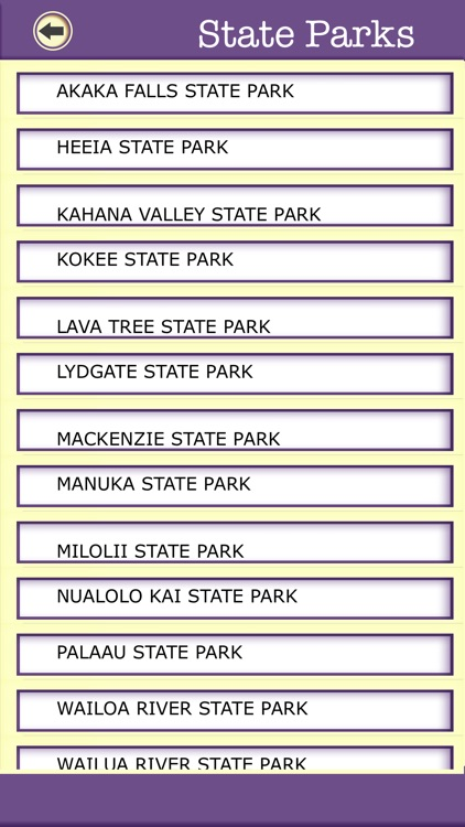 Hawaii Campgrounds & Hiking Trails,State Parks screenshot-4