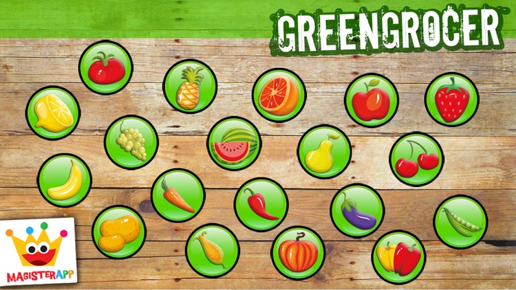 Learning games kids & Toddlers: Fruits Shape Free screenshot-4