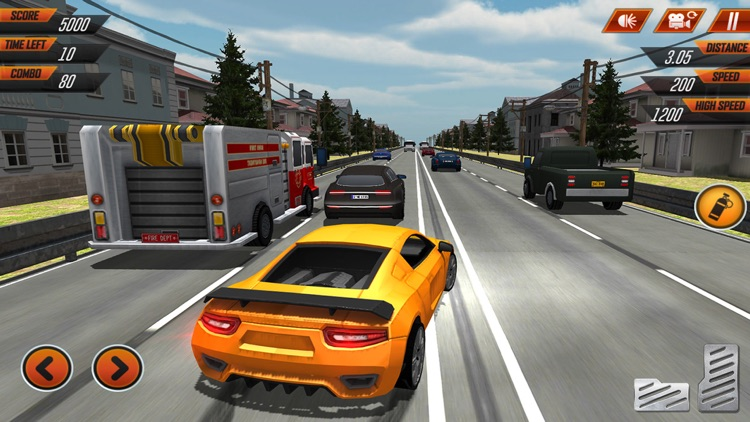 Extreme Car Racing Game: New Highway Traffic Racer screenshot-3
