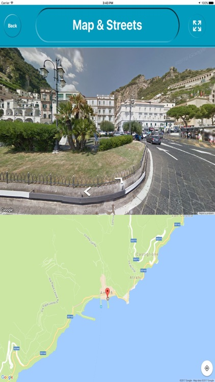 Amalfi Coast Offiline Map Navigation ( E Maps) screenshot-3